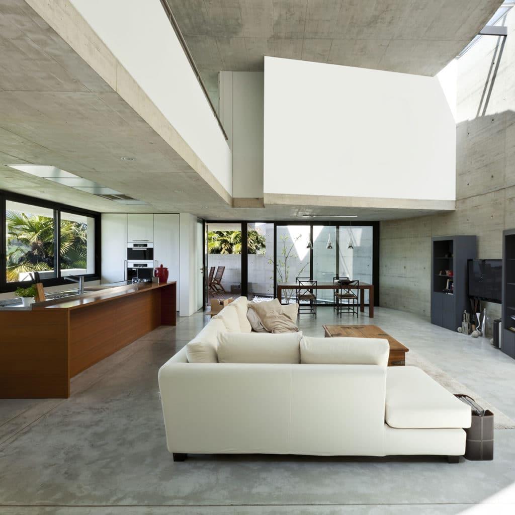sols escaliers b ton cir innovem. Black Bedroom Furniture Sets. Home Design Ideas